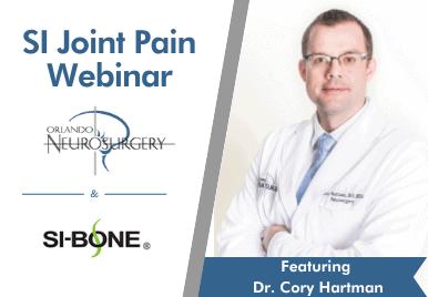 SI joint pain webinar